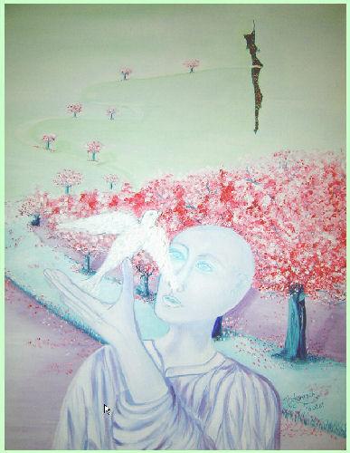 Demain sera blouissant de soleil for Peinture resinance